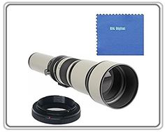 BiG DIGITAL 650-1300mm f/8-16 IF Telephoto Zoom Lens (White) For Sony E-Mount, Alpha a6000, a5000, a5100, A3000, NEX, NEX-F3K, NEX-3NL, NEX-3N, NEX-3NL/B, NEX-3NL/W, NEX-5T, NEX-5TL, NEX-5TL/S, NEX-5TL/W, NEX-5R, NEX-5RK, NEX-6L, NEX-6L/B, NEX6L/B2BDL, NEX-7, a7R, a7K, Compact System Digital SLR Cameras. This 650-1300 mm Telephoto Zoom is an amazing photographic tool that provides a maximum of versatility for anyone shooting at a distance from their subject, including sports and wildlife...