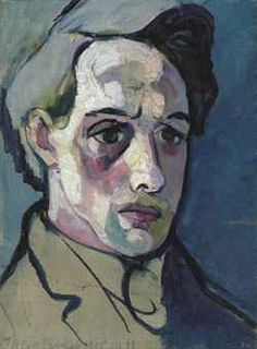 Theo van Doesburg / Self-Portrait / oil on canvas / Painted in 1915