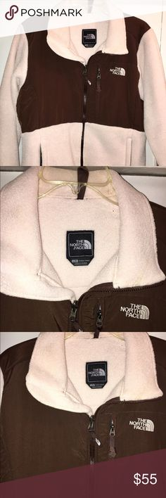 Ladies North Face Denali Fleece Jacket Ladies The North Face jacket in pale pink and chocolate brown. Women's size Large. In perfect condition. No stains or rips Nothing can boast technical legitimacy like the classic Denali from The North Face. Now made from recycled fabrics, this 300-weight Polartec fleece jacket is great for any cold-weather adventure. reinforced shoulders, chest, and elbows with nylon overlay Breathable, quick-drying, durable, and machine-washable Seams curve around to…