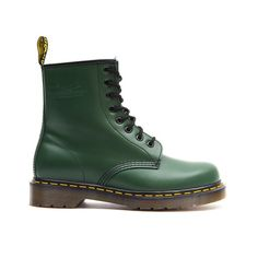 Dr Martens - 1460z Womens - Green Smooth