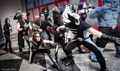 Impressive Group of X-Force Cosplay by LJinto