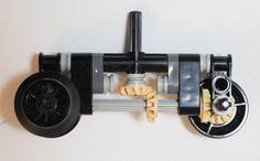 4-gauge powered bogie design