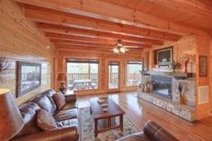 Our 4 bedroom cabins near the Smoky Mountains have all the room you'll need for you