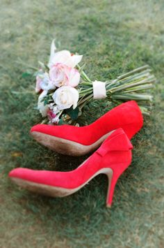 Red wedding shoes ❤️
