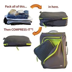 4ae64c5b8c1 KIVA Small Compress-It Cube Travel Necessities, Travel Essentials, Packing  Tips For Travel