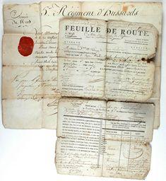 SABRETACHE DU CITOYEN NICOLAS OMELIN HUSSARD AU 5ème REGIMENT, TROISIÈME TYPE 1792-1794, REVOLUTION.