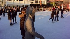 Ice Skating at Harbourfront Rink Toronto #4