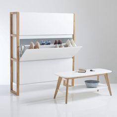 schoenenmeubel met 3 klapdeuren compo la redoute. Black Bedroom Furniture Sets. Home Design Ideas