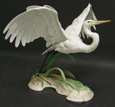 Boehm Boehm Birds Great Egret-Audubon Society - No Box