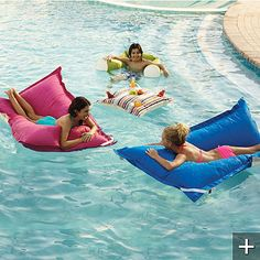 NEED one of these for Lock Lane Pool! Frontgate Luxe Edition Kai Float