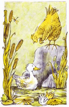 The Strange Disappearance of Arthur Cluck Nathaniel Benchley ~ Arnold Lobel ~ Harper & Row, 1967 Perhaps even more amazing than the . Arnold Lobel, Kindergarten, American Children, Colorful Animals, Frog And Toad, Binky, Vintage Children's Books, Children's Book Illustration, Childrens Books