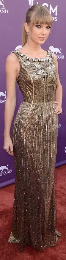 Taylor Swift red carpet dress