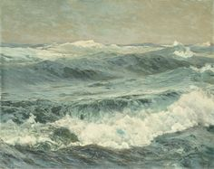 This roaring seascape by Frederick Judd Waugh seems perfect for today. Stay cool!