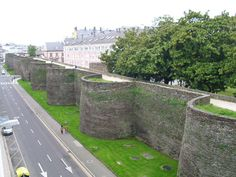 Roman Walls of Lugo.	Lugo, Galicia in Spain.	3rd century. 987. World Heritage Site since 2000.The walls built to protect the Roman town of Lucus in the 3rd century remain entirely intact and are the best remaining example in Western Europe.
