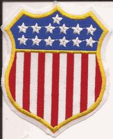 US Shield Patch - Badge Shape