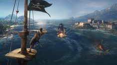 EXPLORE_A_LIVING_OPEN_OCEAN Xbox One, Pirate Games, Family Logo, Game Info, Skull And Bones, Change The World, South America, Ps4, Pirates