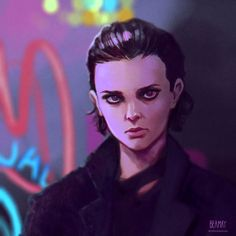 Stranger Things Eleven - Bitchin' by beamay.deviantart.com on @DeviantArt