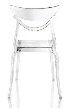 Marlene stoel - set van 4 - Alma - transparant