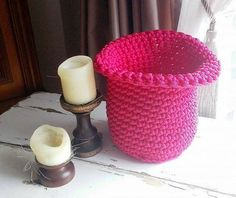 Crochet Storage Basket/ Baskets/ Storage/ Storage by NATAsoftitem