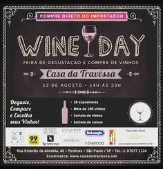 13/08 ♥ WINE DAY Casa da Travessa ♥ SP ♥  http://paulabarrozo.blogspot.com.br/2016/08/1308-wine-day-casa-da-travessa-sp.html