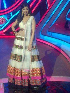 Indian Dresses, Indian Outfits, Kareena Kapoor Navel, Anarkali Lehenga, Shilpa Shetty, Manish Malhotra, Half Saree, Salwar Kameez, Indian Fashion