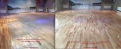 Check out this Before and After of a Maple Floor that we refinished recently. For more information on our Dust Free Floor Sanding Service, check out our website. Modern Flooring, Solid Wood Flooring, Cork Flooring, Parquet Flooring, Wood Planks, Refinishing Hardwood Floors, Floor Refinishing, Maple Floors, Armstrong Flooring