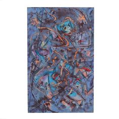 An oil painting on linen titled No. 3 from the Triangulation series by well-listed American artist Ricardo Morin (Venezuela, b. To the lower right corner is the artist's signature and year. Modern Masters, American Artists, Meditation, Art Gallery, Museum, African, Abstract, Painting, Summary