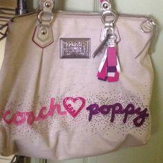 Coach Poppy Coach Poppy purse big Bags