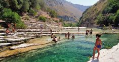 The most beautiful rivers, lakes, waterfalls and hot springs in Italy
