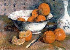 Paul Gauguin  Still Life with Oranges  1881..........kijk ook eens in je keuken, wie weet wat er hangt. Nieuws 02-04-2014