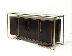 Shop credenzas, sideboards & buffets at Chairish, the design lover's marketplace for the best vintage and used furniture, decor and art. Pallet Furniture Sofa, Bedroom Furniture Makeover, Cabinet Furniture, Ikea Furniture, Luxury Furniture, Living Room Furniture, Modern Furniture, Furniture Design, Furniture Online