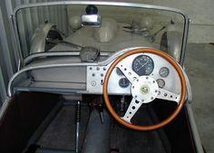 Lotus Mark VI (1953) Cockpit