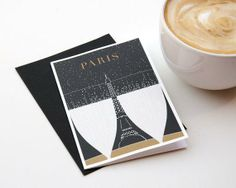 Obvious State - Paris Greeting Card