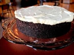 Idahoan Coca-Cola Cake Chocolate cake made with instant mashed potatoes and Coca Cola. I would give this a shot.