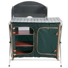Mobilier Camping Table 4 Personnes Avec 4 Si Ges Vert