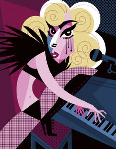 Lady Gaga  FOLLOW THIS BOARD FOR GREAT CARICATURES OR ANY OF OUR OTHER CARICATURE BOARDS. WE HAVE A FEW SEPERATED BY THINGS LIKE ACTORS, MUSICIANS, POLITICS. SPORTS AND MORE...CHECK 'EM OUT!! Anthony Contorno Sr