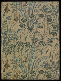 """Meadow Flowers"", Walter Crane, 1896, England"