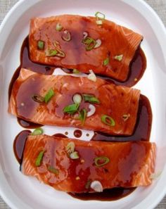 Honey Glazed Salmon- from Gena Knox