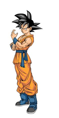 First Look At Goku From DRAGON BALL SUPER