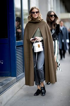 Olivia Palermo's Boyish Chic - The Best Outfits Worn to Paris Fashion Week - Photos