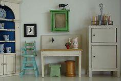 Nice Lot Of Vintage Dollhouse Miniature Furniture • $24.50 - PicClick