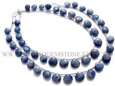 Heart Smooth beads In Blue Sapphire Beads Quality C 6 to 8 #bluesapphire #bluesapphirebeads #bluesapphirebead #bluesapphireheart #heartbeads #beadswholesaler #semipreciousstone #gemstonebeads #beadsogemstone #beadwork #beadstore #bead