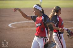 Cat Osterman, USSSA Pride pitcher. Photo by Jade Hewitt