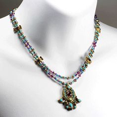 Designer's Jewelry and Judaica Welcome Spring. Michal Golan's pieces are inspired by Middle Eastern, Byzantine and Victorian design.