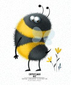 Сообщество иллюстраторов   Иллюстрации и иллюстраторы России и из Шмели, Рисунки Пчел, Пчелинное Искусство, Легкие Рисунки, Рисунки Животных, Монстров, Tatoo