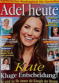 2019: Catherine von Großbritannien Adele, Die Royals, Royals Today, Angst, Grateful