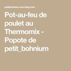 Pot-au-feu de poulet au Thermomix - Popote de petit_bohnium