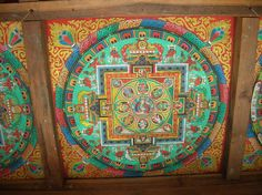Art from a Sherpa Village near Mount Everest