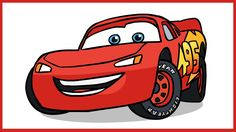 Pixar Drawing How to Draw Lightning McQueen.