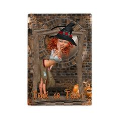 new at @CafePress : Trick or Treat #Halloween Glass #Cutting #Board A little #witch called out of the frame Trick or Treat!  $28.69